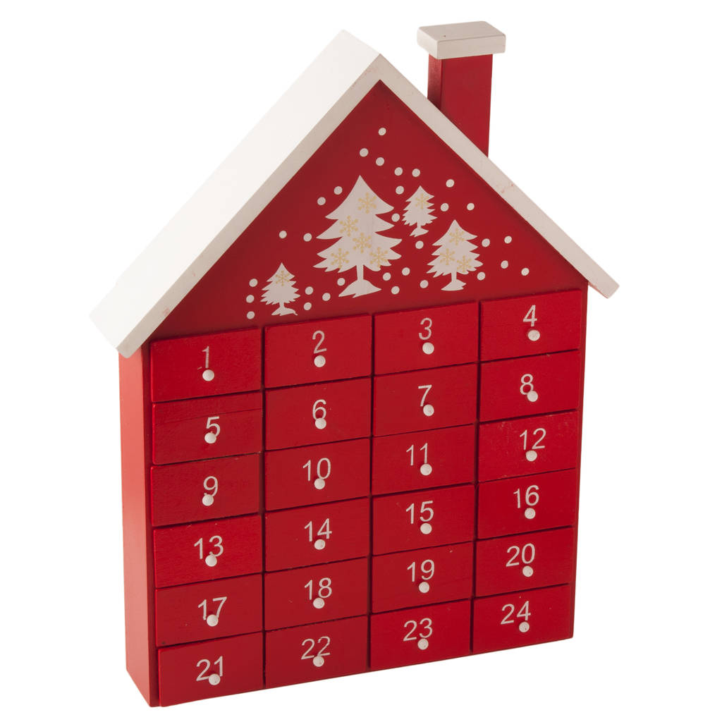 red-wooden-advent-house-1