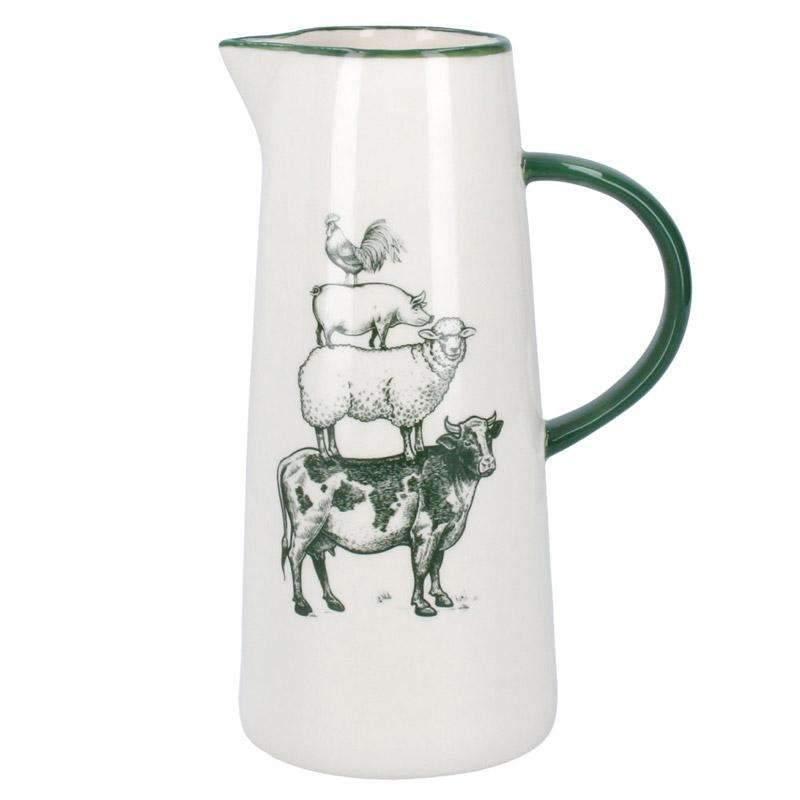 gisela-graham-ceramic-farmyard-jug