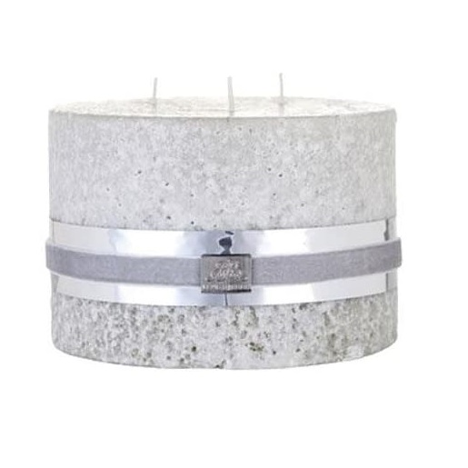 TRIPLE WICK STONE CANDLE