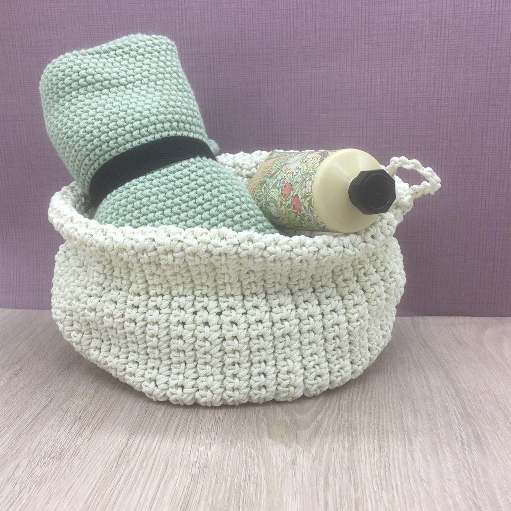 knitted-white-storage-basket