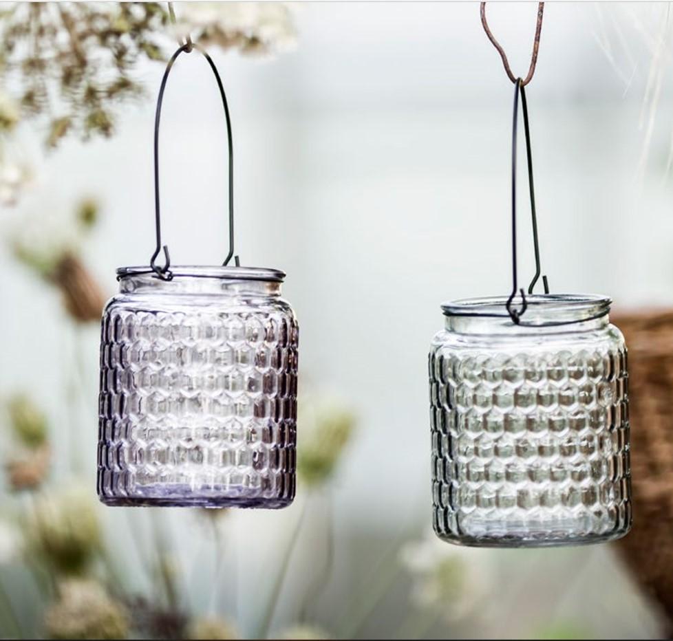 hanging lanterns-mauve-grey